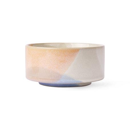 bowl blue/peach ACE6826