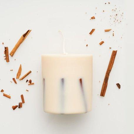 soy wax candle L Munio candela cinnamon