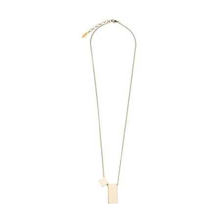 short cube necklace