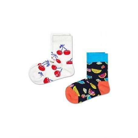 2pack fruit socks kids KCHE02