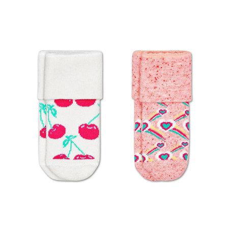 cherry terry socks
