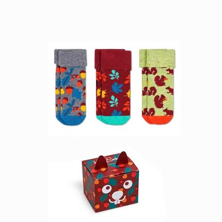 kids forest gift box 3 pairs