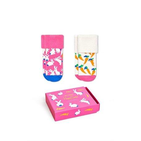 gift set bunny socks 2 pairs