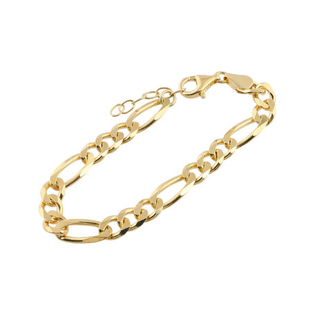 chuncky  Figaro chain bracelet