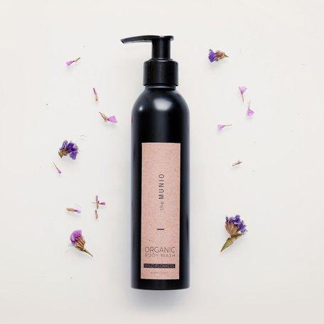 organic body wash wild flowers