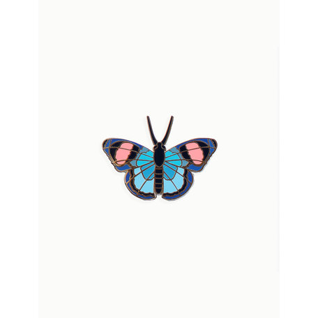 pin peacock butterfly