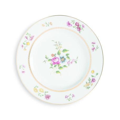 Plate florals 2172-03