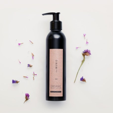 wild flowers organic bodylotion