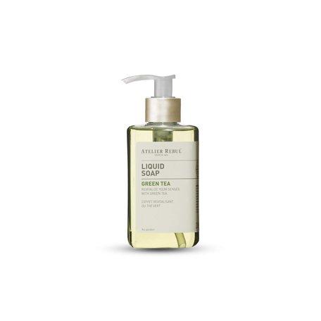 liquid soap green tea