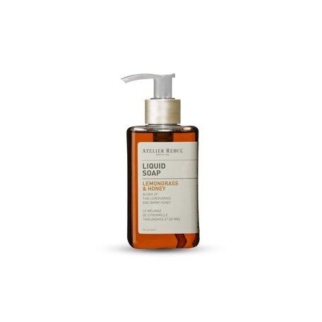 liquid soap lemongrass & honey