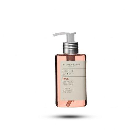 liquid soap rose