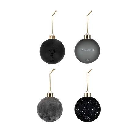 kerstballen off-black