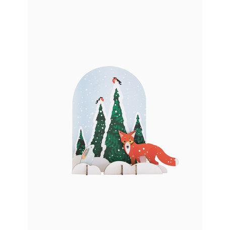 wintertale fox and rabbit