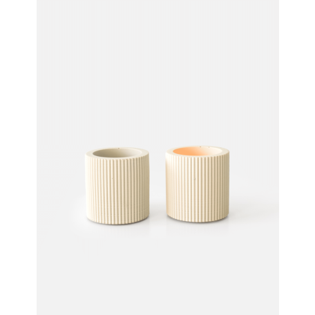 Morgan tealight sandy beige