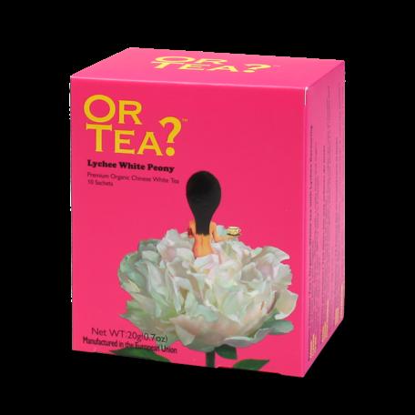 or tea? 10 sachets Lychee white peony