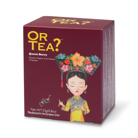 or tea? 10 sachets queen berry