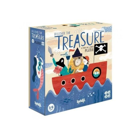 puzzle- discover the treasure