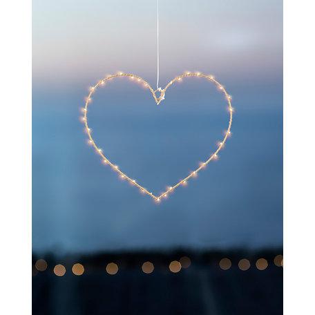 Livia heart 40L Gold