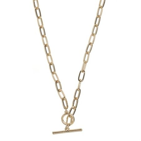 chunky chain necklace gold 8322202