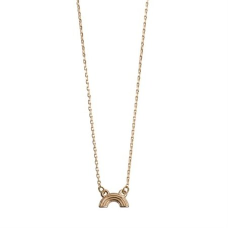 rainbow necklace gold 831702
