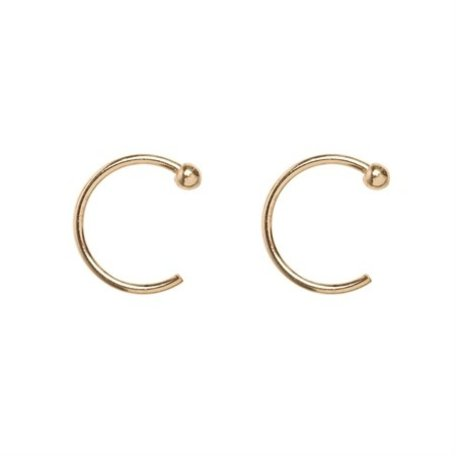 hoop earrings gold 8317102