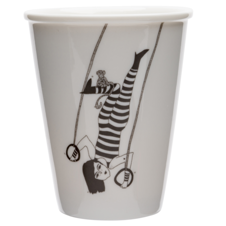 cup tiger woman