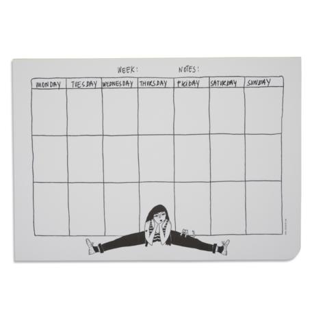 weekplanner flexible fiona