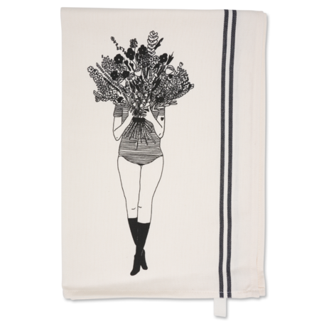 theedoek flower girl