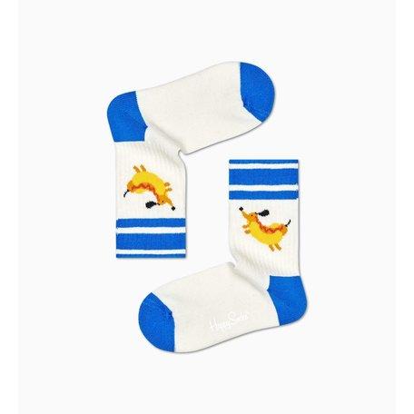 kids hotdog socks rib