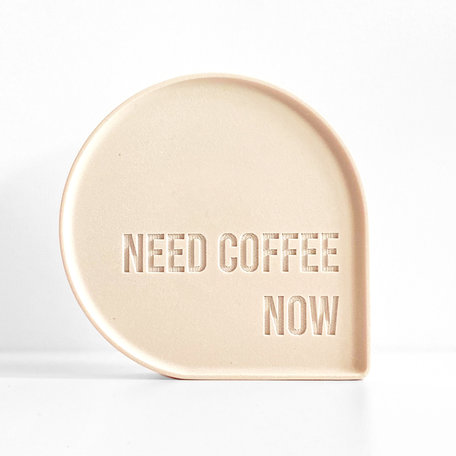 BUBBLE QUOTE: need coffee now