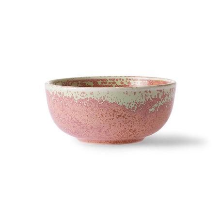 ACE6933 home chef ceramics bowl rustic pink