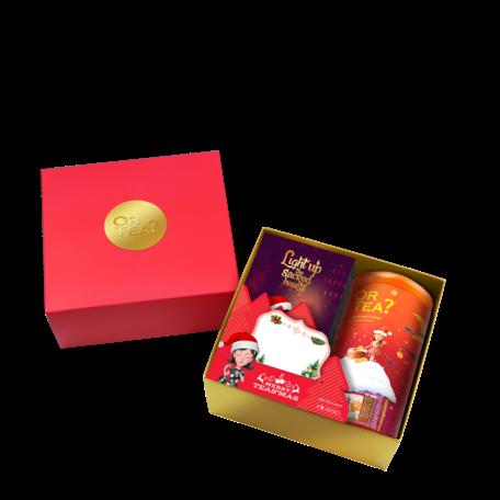Xmas bundle tea+candle