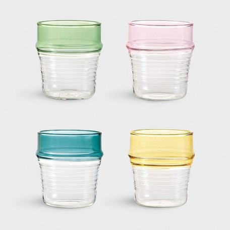 set of 4 glasses asilah