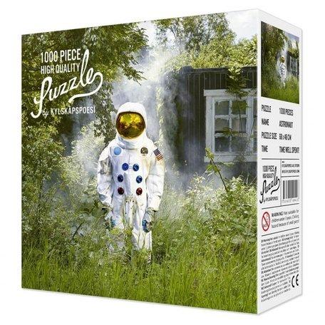 puzzel astronaut