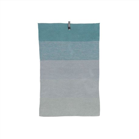 mini towel blue