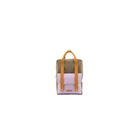 backpack deluxe L madame olive+gustave lilac+concierge orange