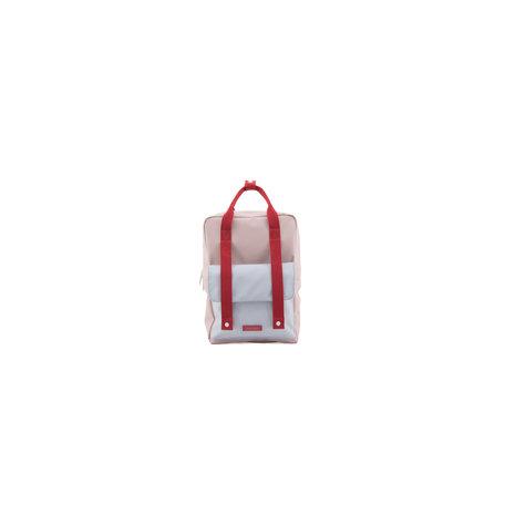 backpack deluxe L me,dl's pink+agathe blue + elevator red