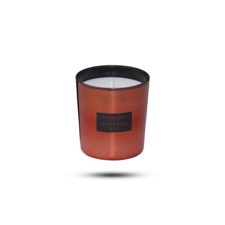 scented candle oud saffraan