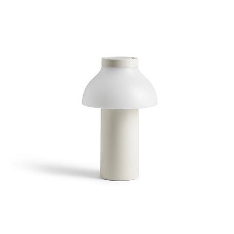 lamp PC portable cream white