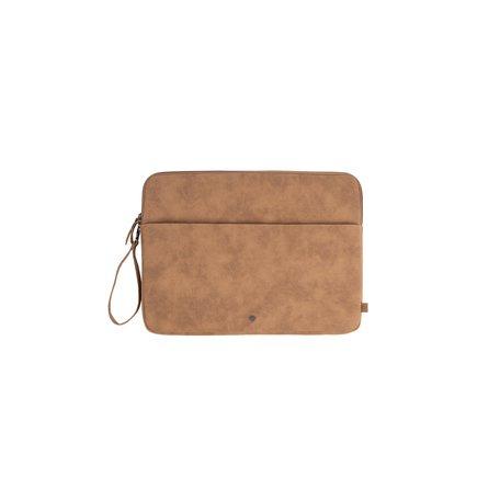 laptopcover kaki - bruin 15 inch