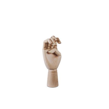 wooden hand M
