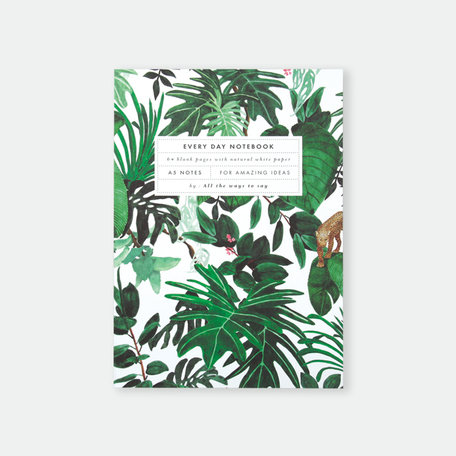 notebook A5 jungle