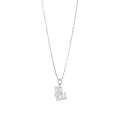 DO YOU necklace SILVER