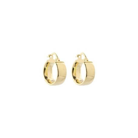 small rounded hoops