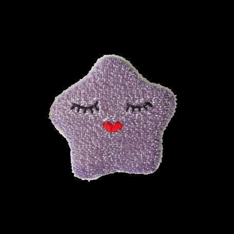 kitchen sponge star purple