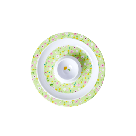 melamine egg cup green