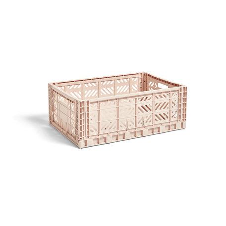 colour crate L soft pink