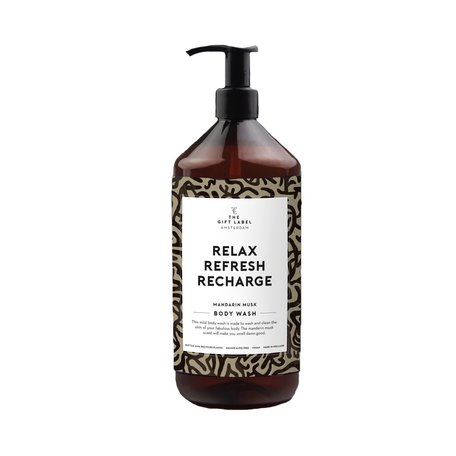 bodywash relax refresh recharge