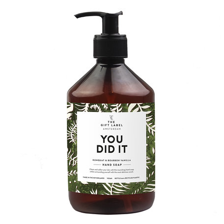 handsoap  you did it