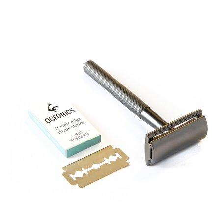 Oceonics safety razor antraciet
